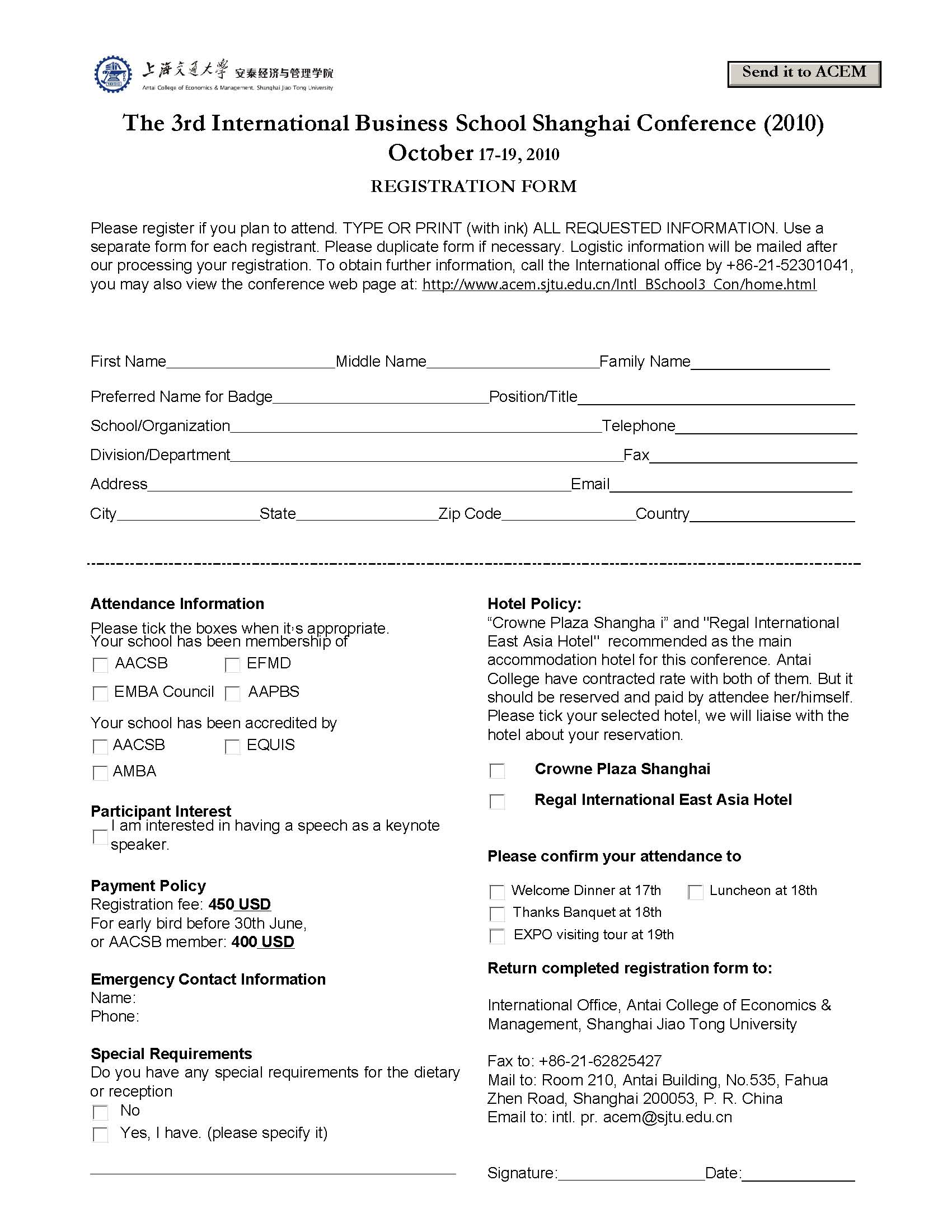 Delightful Registration Form (JPG Format)